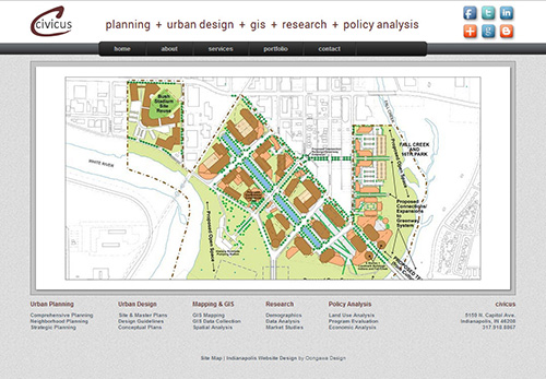 Civicus Planning Website - Indianapolis, Indiana