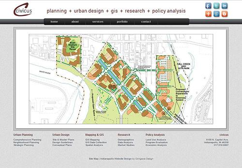 Civicus Planning Website - Indianapolis, Indiana