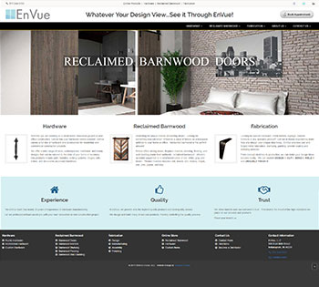 EnVue Products website